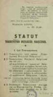 Statut Towarzystwa Przyjaciół Nałęczowa