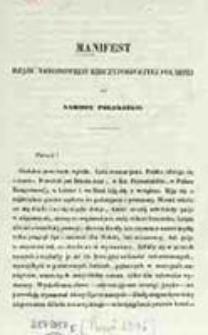 Manifest Rządu Narodowego Rzeczypospolitej Polskiej do Narodu Polskiego