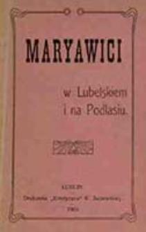 Maryawici w Lubelskiem i na Podlasiu