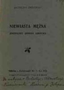 Niewiasta mężna : jenerałowa Jadwiga Zamoyska / Michalina Grodzicka