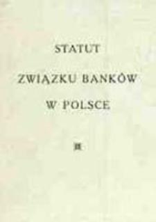 Statut Związku Banków w Polsce