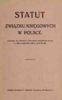 Statut Związku Księgowych w Polsce