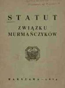 Statut Związku Murmańczyków