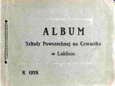 Album Szkoły Powszechnej na Czwartku w Lublinie [Dokument ikonograficzny]