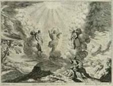 [Przemienienie Pańskie] [Dokument ikonograficzny] / J. W. Baur inv. ; Melchior Küsell fecit