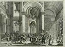 [Chrystus przed Piłatem] [Dokument ikonograficzny / J. W. Baur inv. ; Melchior Küsell fecit