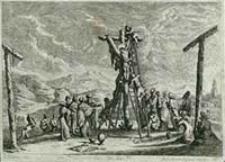 [Zdjęcie z krzyża] [Dokument ikonograficzny] / J. W. Baur inv. ; Melchior Küsell fecit