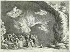 [Złożenie do grobu] [Dokument ikonograficzny] / J. W. Baur inv. ; Melchior Küsell fecit