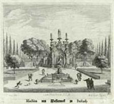 Machina von Wasserwerck zu Frescadj [Dokument ikonograficzny] / J. W. Baur inv. ; Melchior Küsell f.