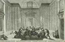 [Ostatnia wieczerza] [Dokument ikonograficzny] / [J. W. Baur inv. ; Melchior Küsell fecit]