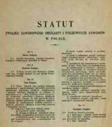 Statut Związku Zawodowego Drukarzy i Pokrewnych Zawodów w Polsce