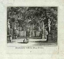 BELPOGGIO Villa des Duca di Ceri [Dokument ikonograficzny] / [J. W. Baur inv. ; Melchior Küsell fecit]