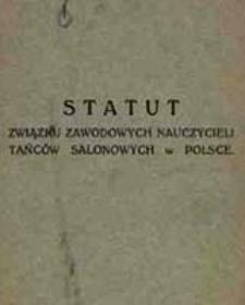 Statut Związku Zawodowych Nauczycieli Tańców Salonowych w Polsce
