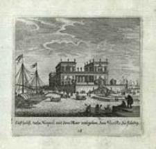 Lufthaus nahe Neapoli mit dem Meer umbgeben dem Vice Re zu ftändig [Dokument ikonograficzny] / [J. W. Baur inv. ; Melchior Küsell fecit]