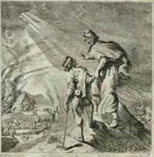[Nieszczęście] [Dokument ikonograficzny] / J. W. Baur inv. ; Melchior Küsell fecit