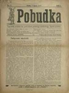 Pobudka : tygodnik poświęcony potrzebom polskiego katolickiego społeczeństwa / red. odp. Kamil Golański