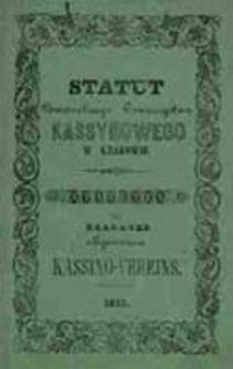 Statut Powszechnego Stowarzyszenia Kassynowego w Krakowie