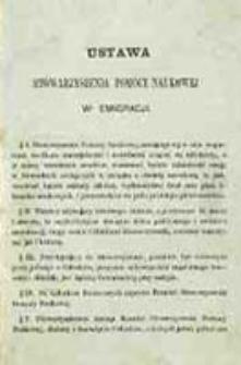 Ustawa Stowarzyszenia Pomocy Naukowej w Emigracji