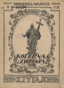 Kolumna króla Zygmunta / Aleksander Kraushar.