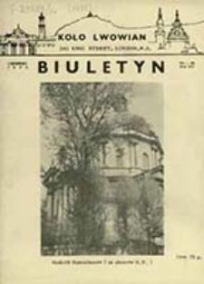 Biuletyn / Koło Lwowian