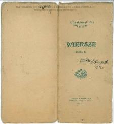 Wiersze : serya II / K. Laskowski (El.).
