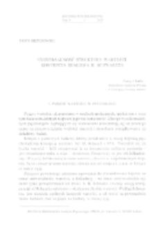 Uniwersalność struktury wartości: koncepcja Shaloma H. Schwartza
