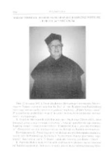 Ksiądz profesor doktor habilitowany Kazimierz Popielski- doktor honoris causa.