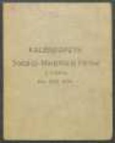 Kalendarzyk Sodalicji Marjańskiej Panów w Lublinie na 1932 Rok.