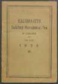 Kalendarzyk Sodalicji Mariańskiej Pań w Lublinie na Rok 1938.