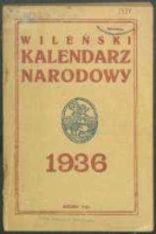 Wileński Kalendarz Narodowy R. 2 (1936).