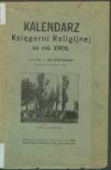 Kalendarz Księgarni Religijnej na Rok 1906.