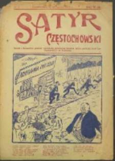 Satyr Częstochowski. No 2 (1922)