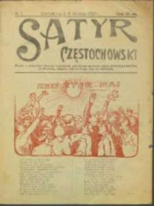 Satyr Częstochowski. No 7 (1922)