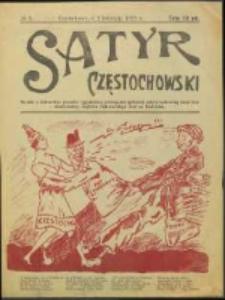 Satyr Częstochowski. No 3 (1922)