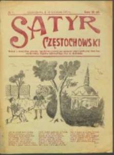 Satyr Częstochowski. No 6 (1922)