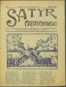 Satyr Częstochowski. No 8 (1922)