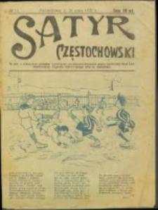Satyr Częstochowski. No 11 (1922)