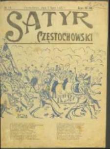 Satyr Częstochowski. No 16 (1922)