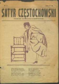 Satyr Częstochowski. No 22 (1922)