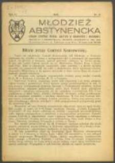 Młodzież Abstynencka. R. 4, Nr 3 (1928)