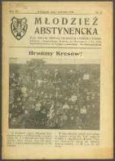 Młodzież Abstynencka. R. 6, Nr 3 (1930)