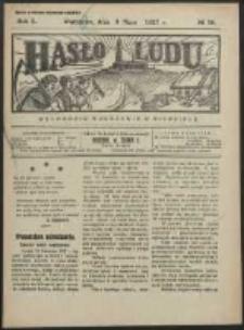 Hasło Ludu. R. 2, Nr 19 (1927)