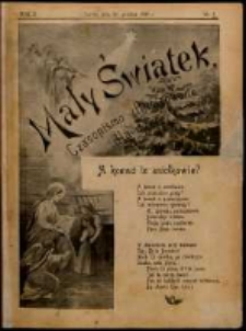 Mały Światek. R. 10, Nr 1 (1896/1897)