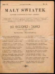 Mały Światek. R. 9, Nr 6 (1895/1896)