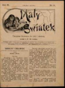 Mały Światek. R. 9, Nr 14 (1895/1896)