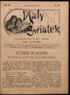Mały Światek. R. 9, Nr 18 (1895/1896)