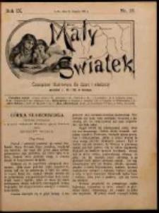 Mały Światek. R. 9, Nr 25 (1895/1896)