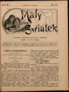 Mały Światek. R. 9, Nr 27 (1895/1896)