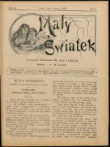 Mały Światek. R. 10, Nr 8 (1896/1897)