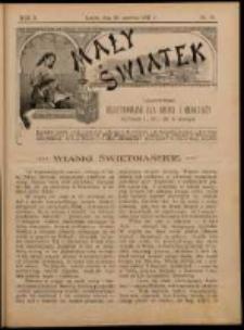 Mały Światek. R. 10, Nr 19 (1896/1897)